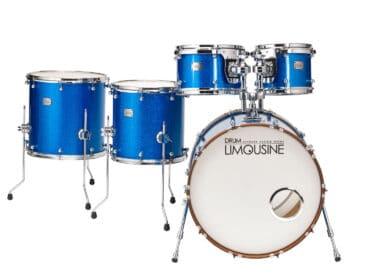 Drum-Limousine-Superior-Custom-Blue-Sparkle