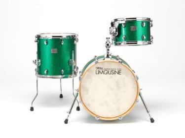 Drum-Limousine-Superior-Custom-Green-Sparkle