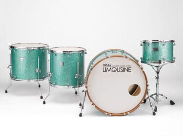Drum-Limousine-Superior-Custom-Turqouise-glitter