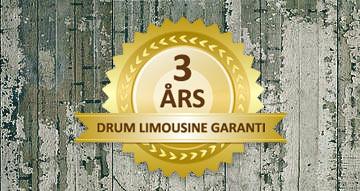 3 års drum limousine garanti