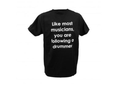 Following-A-Drummer-T-Shirt