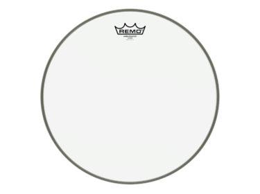 Remo-Ambassador-Clear Drum Limousine