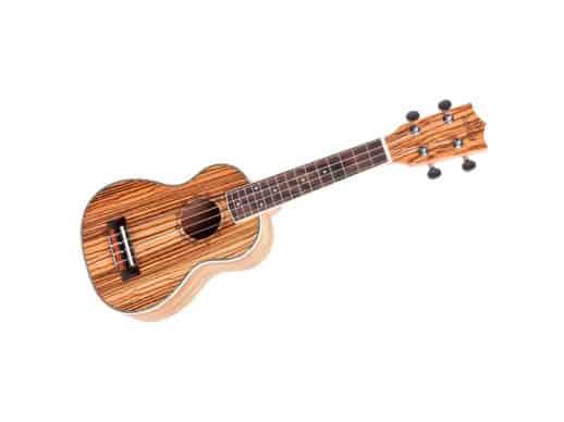 Risa-kokio-soprano-ukulele-zebrawood–med-bag