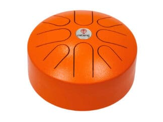 Nataraj-Tongue-Drum-20-cm-Orange-Drum-Limousine