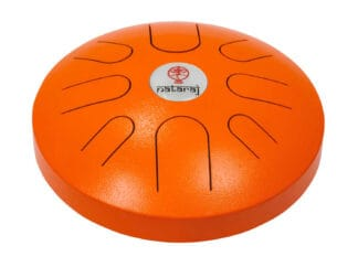 Nataraj-Tongue-Drum-30-cm-Orange-Drum-Limousine
