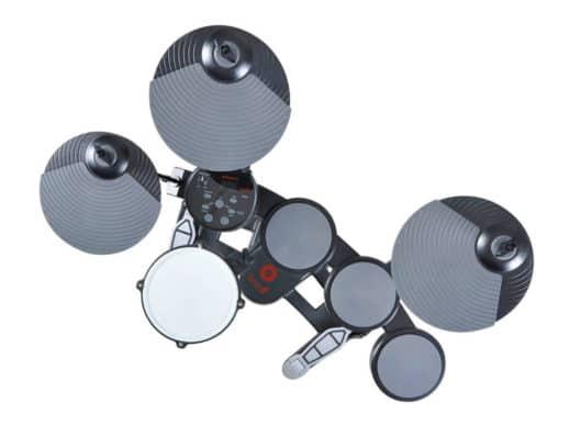 Hitman-DRUM1-el-trommesæt-ovenfra