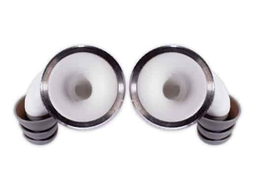 Knops-white-knurled-Ring-set