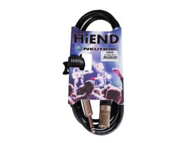 HiEnd with Neutrik XLR(han)-til-jack-kabel 3 meter-Drum-Limousine