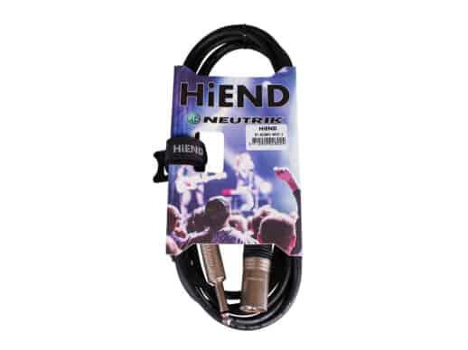 HiEnd with Neutrik XLR(han)-til-jack-kabel 3 meter