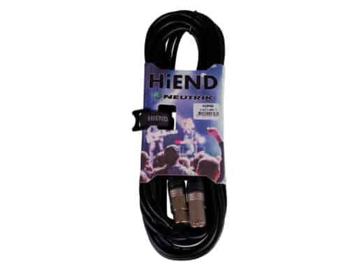 HiEnd-with-Neutrik-xlr-til-xlr-kabel-10-meter