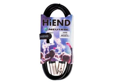 HiEnd-with-Neutrik-xlr-til-xlr-kabel-3-meter-Drum-Limousine