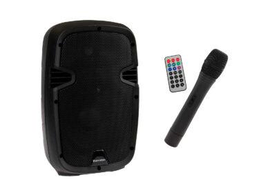 Thornton-EBN8W-transportabelt-anlæg-med-trådløs-mikrofon-Drum-Limousine