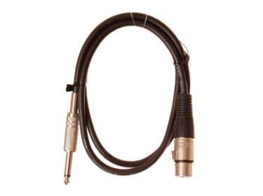 HiEnd-XLR-hun-til-jack-kabel-1-meter Drum Limousine