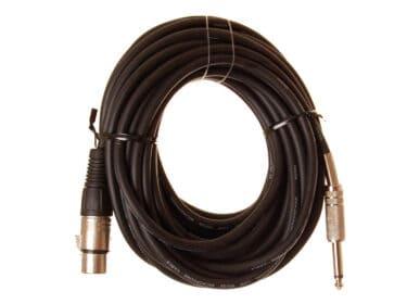 HiEnd-XLR-hun-til-jack-kabel-10-meter Drum Limousine