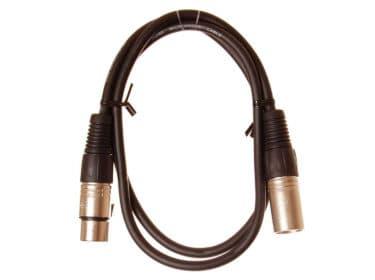 HiEnd-XLR-til-XLR-kabel-1-meter Drum Limousine