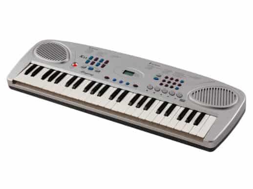 Ringway-K35-børne-keyboard-grå-side