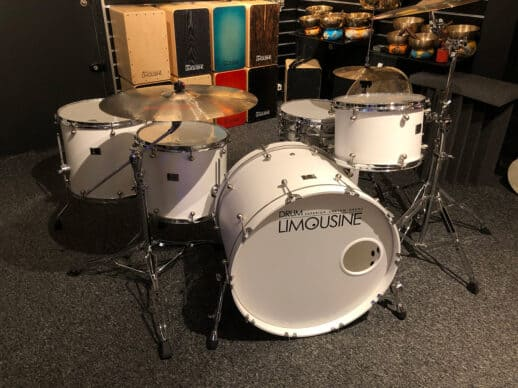 Drum-Limousine-Superior-Custom-Matt-White