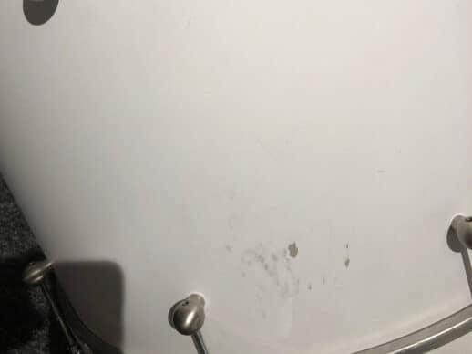 Drum-Limousine-Superior-Custom-Matt-White-mærke