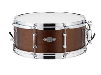 "Drum-LImousine-Lilletromme-Dark Cobber-leather-13""x6"""