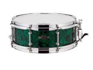 "Drum-LImousine-Lilletromme-13"" x 5"" Green-Pearl"