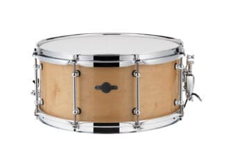 "Drum-LImousine-Maple-Lilletromme-14""x6½"" -High-Gloss Lakeret"