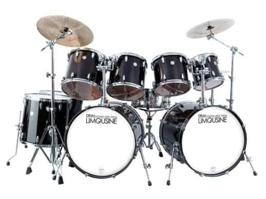 Drum-Limousine-trommesæt-DL-CUS-222-BK