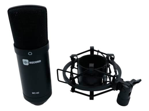 Record-MC-82-BK-kondensator-mikrofon-sort-samlet