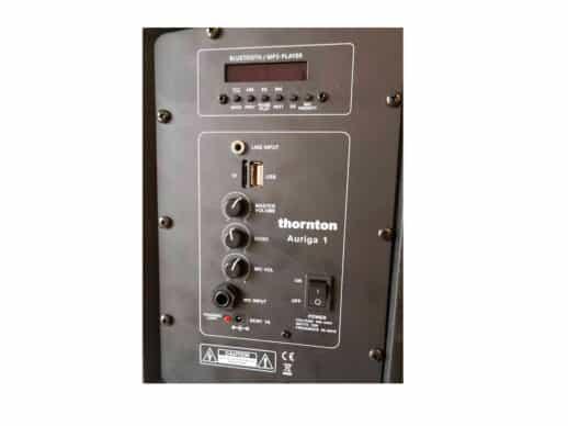 Thornton-Auriga-1-aktiv-højttaler-indgange Drum Limousine
