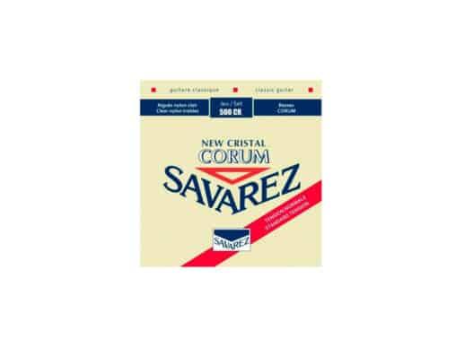 Savarez-500CR-New-Corum-spansk-guitar-strenge,-rød Drum Limousine